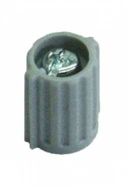 Wing knob, light grey, mat finisch