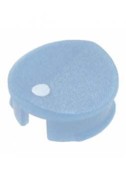 Prismatic cap for short knobs, blue, mat finish